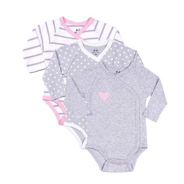 Baby Bodysuit Onesie in Set of 3 Designs