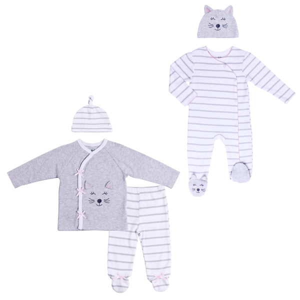 Baby Twin Girl 5-Piece Set