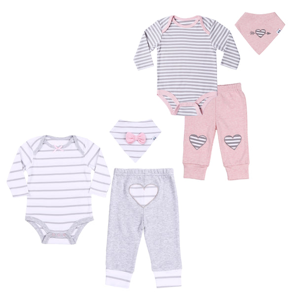 Baby Twin Girl 6-Piece Set