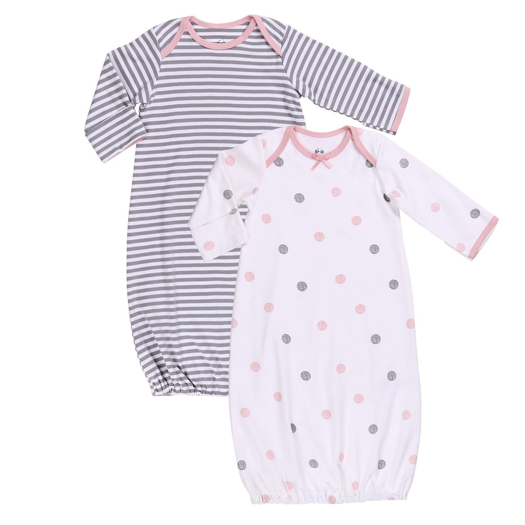 Sleep Sack Set (2 piece) in Dark Striped and Dotted