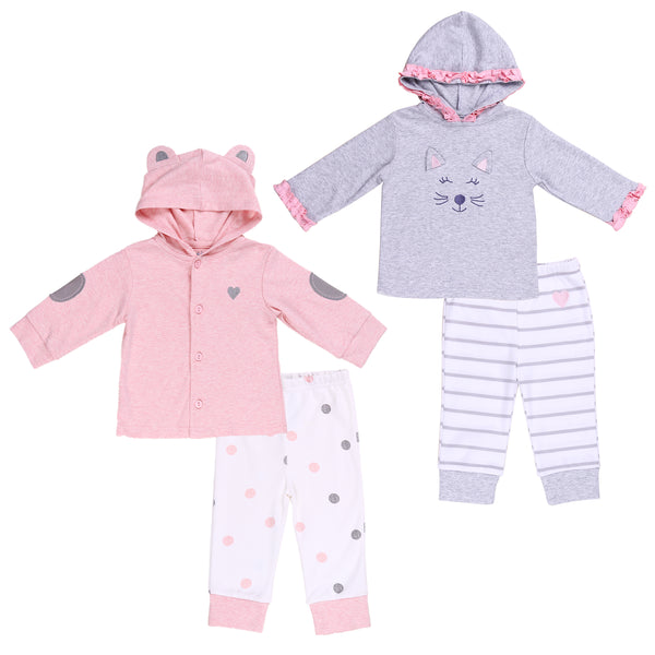 Baby Twin Girl 2-Piece Set