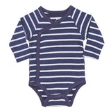 Baby Bodysuit Onesie with Navy Stripes