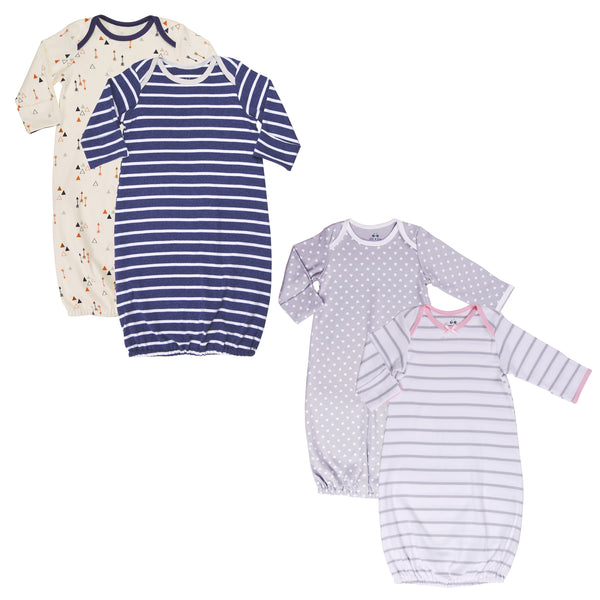 Boy-Girl Twin 4-Piece Sleep Sack Set