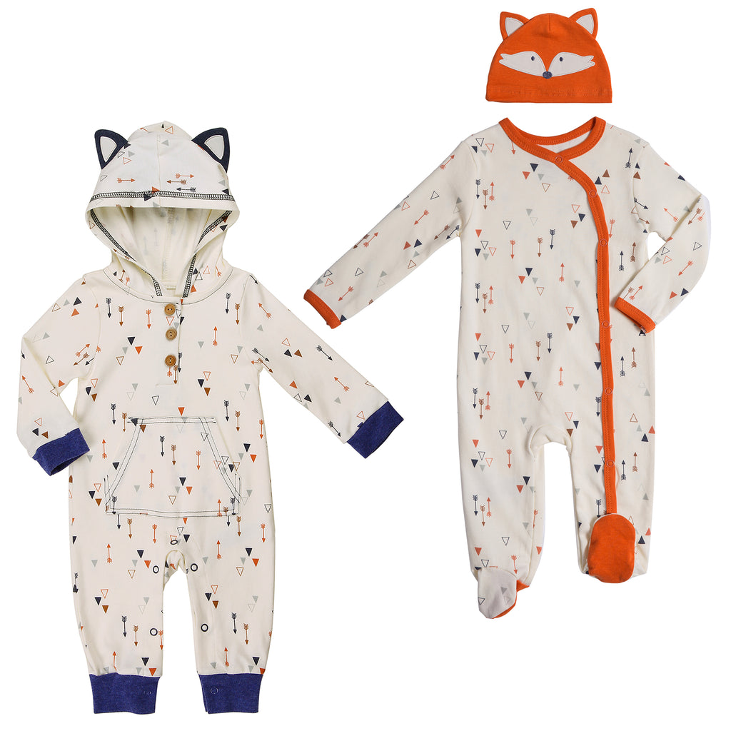 Baby Twin Boy 3-Piece Set