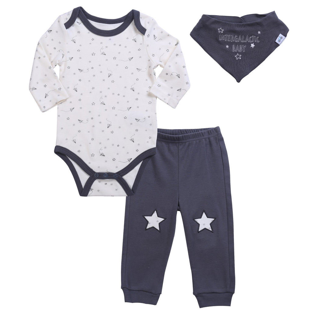 3 piece Neutral Baby outfit set
