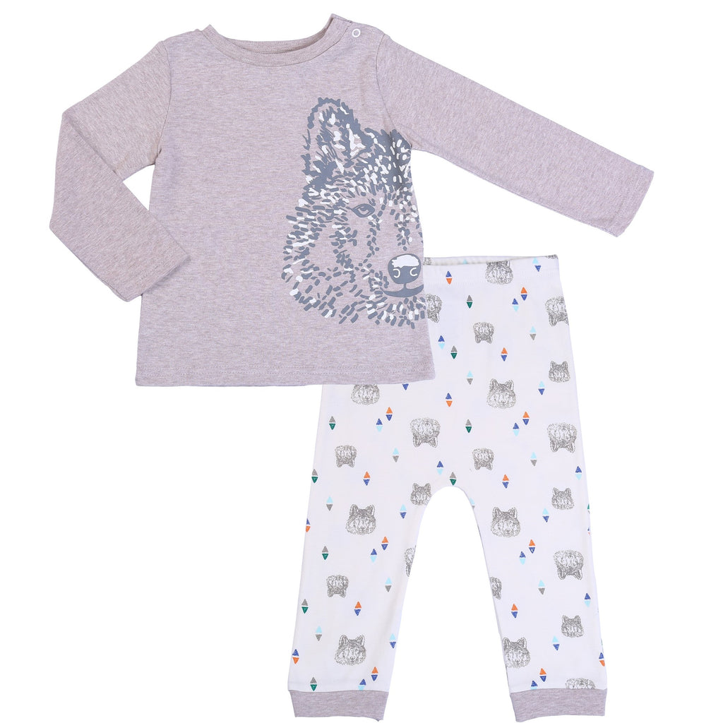 Baby Tee & Pant Outfit