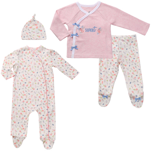 Baby Girl Twin Pajama Set