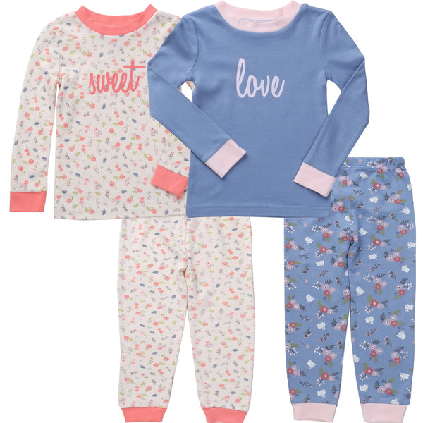 4 pc Pajama Set