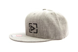 Atmosphere Strapback Hat - Heatered Grey