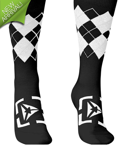 Atmosphere Socks - Black / White