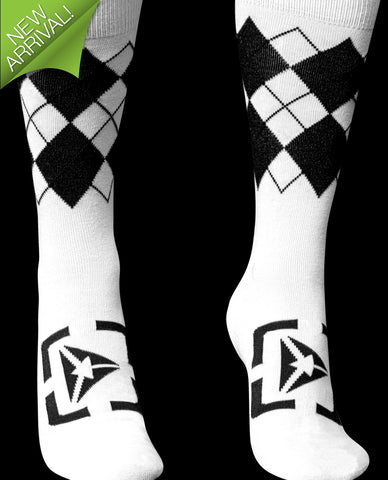 Atmosphere Socks - White / Black