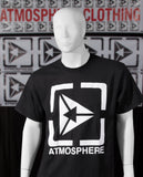 Atmosphere Triangle Logo Tee - Black