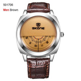 SKOne Men or Women Wristwatches Genuine Leather Military Sports Watch | calizota