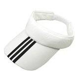 Verwong Striped Unisex Sports Sun Visor