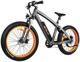 Addmotor MOTAN Electric Bicycles Mountain Fat Tire 26 Inch Power Electric Bikes Removable 48V 10.4AH Lithium Battery M-560 Ebikes For Adults(Orange) | calizota