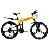 Altruism X5 Pro Aluminum Alloy 21-Speed Mens 26-Inch Disc Brake Folding Bicycle