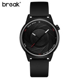 BREAK Photographer Series Unique Camera Style stainless Strap Men Women Casual Fashion Sport Quartz Modern Gift Wrist Watches | calizota