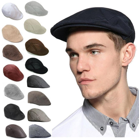 England Style Solid Spring Winter Hats for Women Men Fashion Outdoor Unisex Beach Sun Hat Newest Casual Mens Beret Caps | calizota