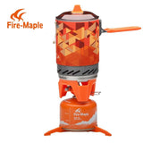 FMS-X2 X3 Fire Maple compact One-Piece Camping Stove Heat Exchanger Pot camping equipment set Flash Personal Cooking System | calizota