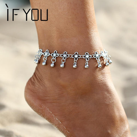 Vintage Foot Jewelry Anklet Chain