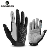 ROCKBROS Spiderweb Windproof Cycling Touch Screen MTB Bicycle Glove