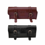 Bicycle Frame Bag PU Leather Cycling Bag Saddle Pouch Pannier | calizota