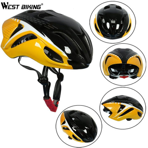 West Biking Breathable Cycling Helmet Road Mountain Bike Helmet Safety Equipment Design Ergonomic Oversized Air Vent Helmet