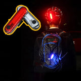 West Biking Bicycle Taillight USB Rechargeable Waterproof 4 Modes Lightweight  MTB Road Super Bright Night Warning Cycling Light | calizota