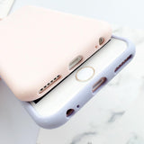 XBXCase Macarons Color TPU Silicone Frosted Matte Soft Case for iPhone