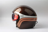 LS2 Vintage Spitfire 3/4 ECE Approved Motorcycle Helmet with or without Visor | calizota