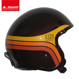 LS2 Vintage Spitfire 3/4 ECE Approved Motorcycle Helmet with or without Visor