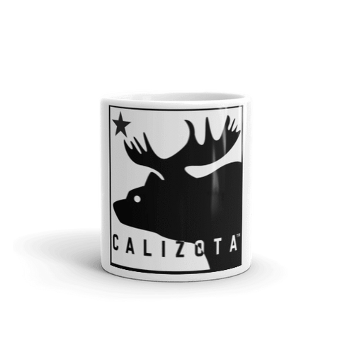 Calizota Logo White Ceramic Mug