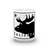 Calizota Logo White Ceramic Mug | calizota