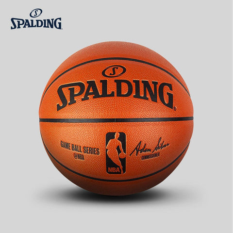 Original SPALDING Standard  Basketball PU No. 7 Men Basketbol Ball 74-570Y Baloncesto basketball