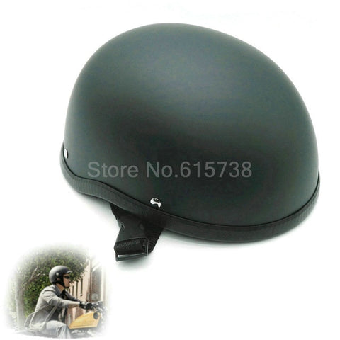 Heinmo's Unisex Long-back DOT Approved Half Motorcycle Helmet