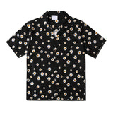 Dark Icon Daisy Printed Vintage Casual Shirts for Men