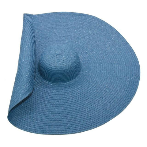 Latwelng Oversized Beach Big Brim Sun Hat