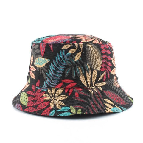 Furandown Unisex Summer Foldable Reversible Bucket Cap