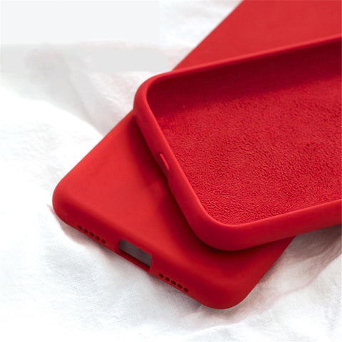BEYOUR Luxury Liquid Silicone Soft Back Cover Case For iPhone