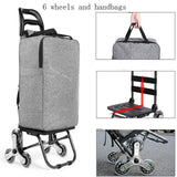 Climbing Shopping Cart Trolley with Backpack Shoulder Straps