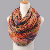 Women's Cotton Scarf Autumn And Winter Bali Yarn Oversized Scarf
