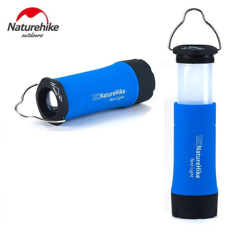 NatureHike Portable Mini CREE R2 LED Zoomable Flashing Camping Lantern Outdoor LED Tent Light Lamp With 3 Working Modes | calizota