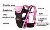 Beth Bear 0-30 months baby carrier, ergonomic kids sling backpack pouch wrap Front Facing multifunctional infant kangaroo bag | calizota
