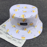 VORON Banana Hat Hip Hop Summer Beach Bucket Hat | calizota