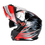 TORC Flip-Up Full Face ECE Approved Motorcycle Racing Helmet