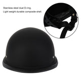 IZTOSS Half Face Comfortable Durable Matte Black German Style Vintage DOT Approved Motorcycle Helmet | calizota