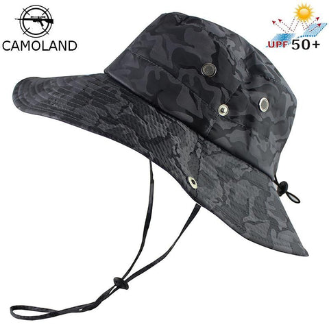 CAMOLAND UPF 50+ UV Protection Camouflage Bucket Sun Hat