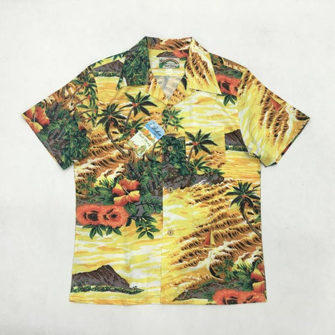 Bob Dong Aloha Series Hawaii Coconut Tree Beach Shirt