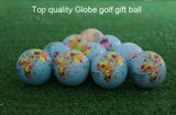 EVERIO 2pcs Practice World Map Geographic Golf Balls Gift | calizota