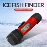 Erchang F12 Sonar Fish Finder Hand Held Digital Sonar Fishfinder LED 47x18mm Screen 0.8-90m Depth Detection For Ice Fishing